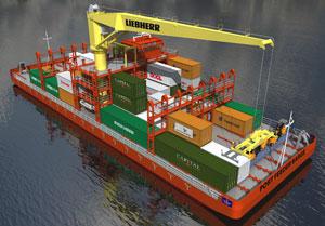 >Port Feeder Barge