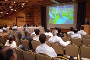 Representatives from Petrobras, Sinaval, ABIMAQ, the Brazilian Navy and UTC Engenharia were in attendance while officials from software, design and shipbuilding firms such as FormSys, INACE, Guido Perla and Estaliero Atlântico Sul (EAS) also shared their experiences working with ShipConstructor's innovative technology