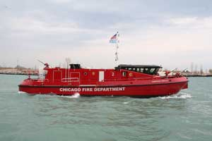 Ranger 2700 Class fireboat Christopher Wheatley