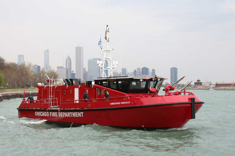 Ranger 2700 Class fireboat Christopher Wheatley""