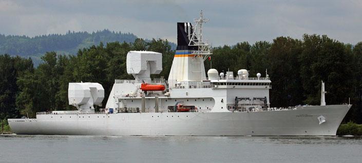 Howard O. Lorenzen Missile Range Instrumentation Ship