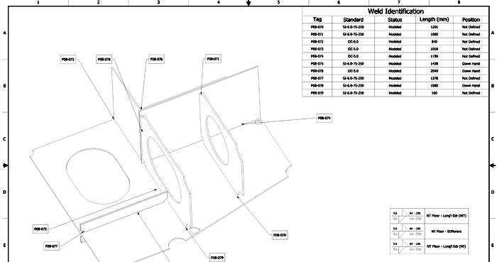 ShipConstructor-Weld-Process-Layout-View2