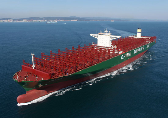 CSCL Global. (Image Copyright: HHI)