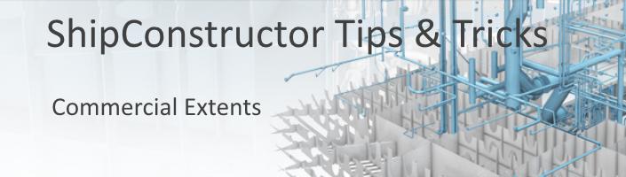ShipConstructor Tips & Tricks Commercial Extents