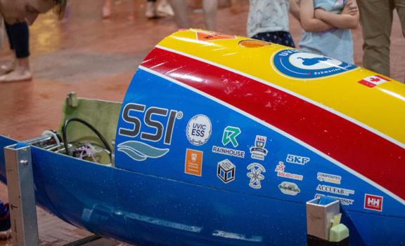 UVic Submarine Racing Team Wins Prize in 2019 International Submarine Races