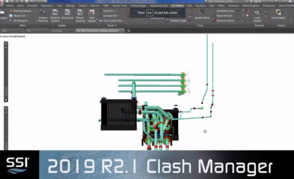 SSI 2019 R2.1 Clash Manager