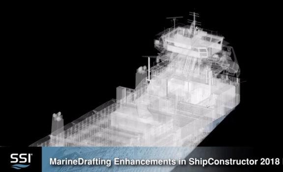MarineDrafting Enhancements in ShipConstructor 2018 R2
