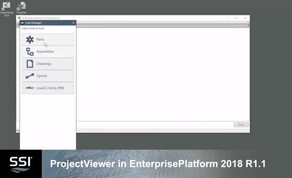 ProjectViewer In EnterprisePlatform 2018 R1.1