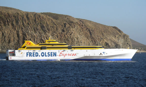 The Benchijigua Express - First Fast Ferry