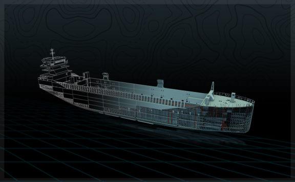 日本の造船業の3Dデザイン