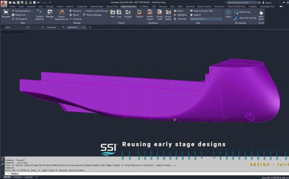 Reusing Initial Design Data for Basic Design