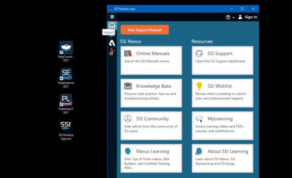 SSI 2021 R2 Desktop App