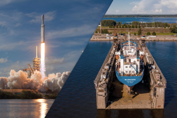 What If SpaceX Acquired Your Shipyard?
