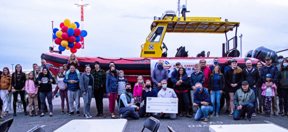 SSI Pledges Support for Victoria Marine Rescue Society